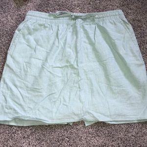 FOREVER 21 CONTEMPORARY Linen Skirt